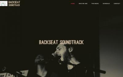 Austin, TX, Band Backseat Soundtrack Launches Website